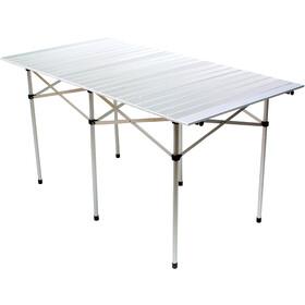 Relags - mesa plegable, grande - gris/blanco